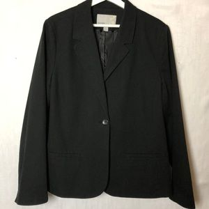 Old Navy Black Single Breasted Blazer. XXL.